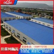 山东蓬莱apvc瓦 波浪板 蓝色玻纤瓦适用轻钢结构建筑
