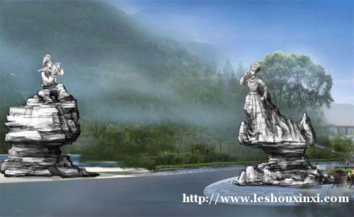 新艺标环艺 重庆园林艺术景观 四川旅游景观策划 重庆景区入口
