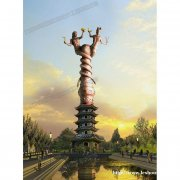 华阳雕塑 重庆城市雕塑 重庆主题雕塑 四川景区标识标牌
